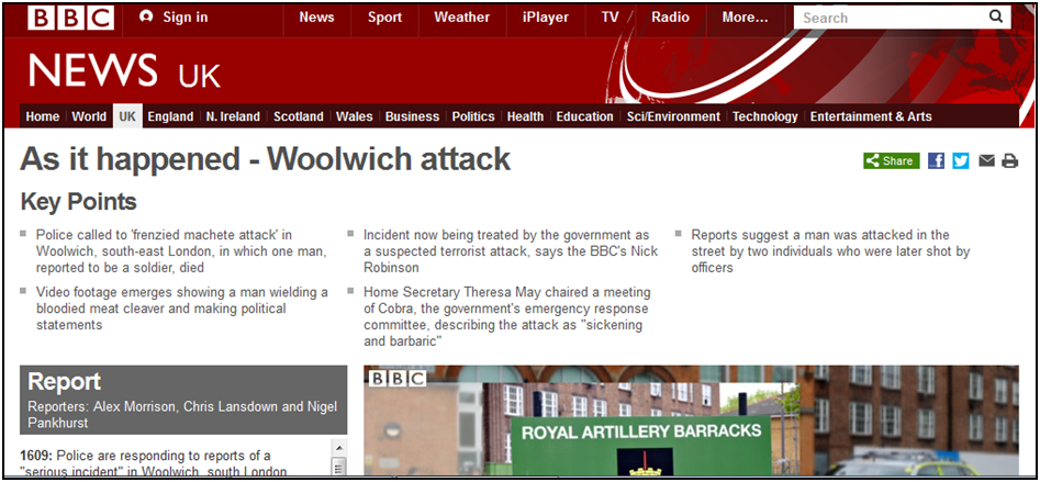 "Fig.  243 – the BBC's ""At it happened"" coverage."