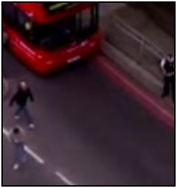 Fig.  279d – at last, the whole glass space is clear – this sequence showed someone moving into the bus from the doorway.