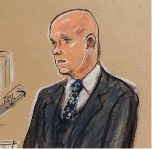 Fig. 37 – Gary Perkins testifying.